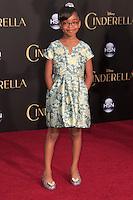 "LOS ANGELES - MAR 1:  Marsai Martin at the ""Cinderella"" World Premiere at the El Capitan Theater on March 1, 2015 in Los Angeles, CA"