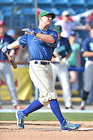 Lexington Legends infielder Ryan O'Hearn (22) participates in the South Atlantic League All Star Game Home Run Derby on June 23, 2015 in Asheville, North Carolina. The North Division defeated the South 7-5(Tony Farlow/Four Seam Images)
