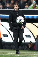 """Massimiliano Allegri Milan.Milano 20/02/2013 Stadio """"S.Siro"""".Football Calcio UEFA Champions League 2012/13.Milan vs Barcellona.Foto Insidefoto Paolo Nucci."""