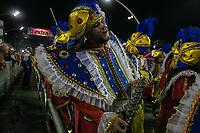 SÃO PAULO, SP, 02.03.2019: CARNAVAL-SP – Apresentação da escola de samba Águia de Ouro durante o segundo dia de desfile do Grupo Especial do carnaval de São Paulo, neste sábado (02), no Sambódromo do Anhembi na capital paulista. (Foto: Marivaldo Oliveira/Código19)