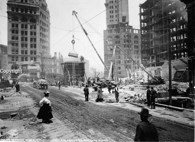 San Francisco 1906 Earthquake  - The San Francisco earthquake of 1906 was a major earthquake that struck San Francisco and the coast of Northern California at 5:12 a.m. on Wednesday, April 18, 1906. Devastating fires broke out in the city and lasted for several days. As a result of the quake and fires, about 3,000 people died and over 80% of San Francisco was destroyed.<br /> <br /> The earthquake and resulting fire are remembered as one of the worst natural disasters in the history of the United States