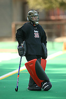 28 August 2007: Madison Bell during Stanford's exhibition game against the University of Victoria Vikes at the Varsity Field Hockey Turf in Stanford, CA.