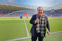 Club chaplain Kevin Johns during to the Sky Bet Championship match between Swansea City and Cardiff City at the Liberty Stadium, Swansea, Wales, UK. Sunday 27 October 2019