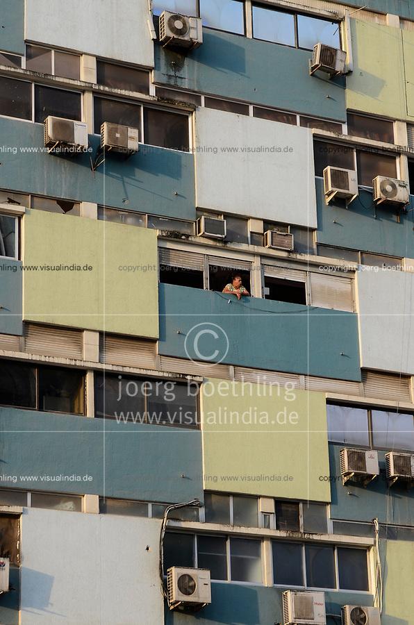 ANGOLA Luanda, block building