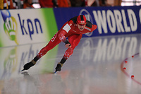 SPEEDSKATING: ERFURT: 19-01-2018, ISU World Cup, 500m Men B Division, Christian Oberbichler (SUI), photo: Martin de Jong