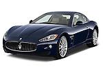 Front three quarter view of a 2010 Maserati Granturismo S Automatic Coupe
