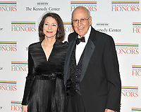 Washington, DC - December 5, 2009 -- Carl Reiner, right, and Ms. Annie Reiner, left, arrive for the formal Artist's Dinner at the United States Department of State in Washington, D.C. on Saturday, December 5, 2009..Credit: Ron Sachs/CNP/AdMedia