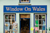 Tuesday  17  June  2014<br /> <br /> Pictured: Window on Wales shop in St.Davids, Wales, UK <br /> Re:  Trinity Saint Davids - Visit to Pembroke Castle and St.Davids
