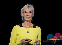 Rotterdam, Netherlands, December 16,  2016, Topsportcentrum,  Coaches Congress , key note speaker: Judy Murray<br /> Photo: Tennisimages/Henk Koster
