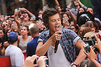 NEW YORK, NY - AUGUST 23: Niall Horan, Harry Styles, Zayn Malik, Liam Payne and Louis Tomlinson of One Direction perform on NBC's 'Today' at Rockefeller Center on August 23, 2013 in New York City. (Photo by Jeffery Duran/Celebrity Monitor)
