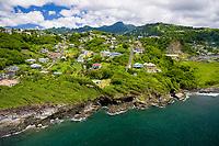 aerial of St. Vincent, Caribbean, Atlantic