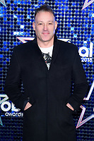 Toby Anstis<br /> arriving for the Global Awards 2018 at the Apollo Hammersmith, London<br /> <br /> ©Ash Knotek  D3384  01/03/2018