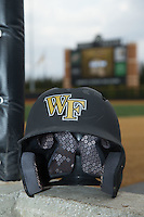 The Wake Forest Demon Deacons played host to the Clemson Tigers in ACC baseball action at David F. Couch Ballpark on March 12, 2016 in Winston-Salem, North Carolina.  The Tigers defeated the Demon Deacons 6-5.  (Brian Westerholt/Four Seam Images)