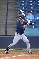 Lakeland Flying Tigers Kody Clemens (4) bats during a game against the Tampa Tarpons on June 1, 2021 at George M. Steinbrenner Field in Tampa, Florida.  (Mike Janes/Four Seam Images)