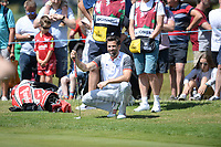 TV and radio presenter Gethin Jones during the Bulmers 2018 Celebrity Cup at the Celtic Manor Resort. Newport, Gwent,  Wales, on Saturday 30th June 2018<br /> <br /> <br /> Jeff Thomas Photography -  www.jaypics.photoshelter.com - <br /> e-mail swansea1001@hotmail.co.uk -<br /> Mob: 07837 386244 -