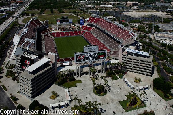 aerial photograph Raymond James stadium, Tampa, Florida