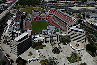 aerial photograph Raymond James stadium, Tampa, Florida