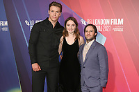 """Will Poulter, Kaitlyn Dever and Danny Strong attend the European premiere of """"Dopesick"""" at The Mayfair Hotel during the 65th BFI London Film Festival in London. OCTOBER 13th 2021<br /> <br /> REF: SLI 21561 .<br /> Credit: Matrix/MediaPunch **FOR USA ONLY**"""