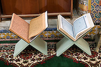 Tripoli, Libya - Korans, Gurgi Mosque, Medina (Old City).