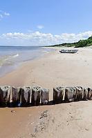 Strand von Mikeltornis, Lettland, Europa