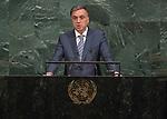 72 General Debate – 20 September <br /> <br /> His Excellency Filip Vujanović, President of Montenegro
