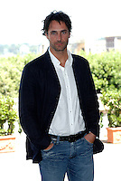 "RAOUL BOVA.Photcall for the film ""Io, l'altro"", Campidoglio, Rome, Italy..May 10th, 2007.half length hands in pockets blue jacket  .CAP/CAV.©Luca Cavallari/Capital Pictures"