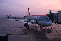 Airplane on tarmac<br />