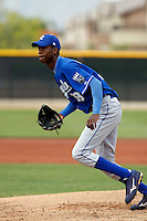 Carlos Sencion - Kansas City Royals - 2009 spring training.Photo by:  Bill Mitchell/Four Seam Images