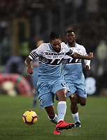 Football, Serie A: S.S. Lazio - Juventus, Olympic stadium, Rome, January 27, 2019. <br /> Lazio's Fortuna Wallace Dos Santos during the Italian Serie A football match between S.S. Lazio and Juventus at Rome's Olympic stadium, Rome on January 27, 2019.<br /> UPDATE IMAGES PRESS/Isabella Bonotto