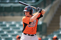 Baltimore Orioles Austin Anderson (39) during an instructional league game against the Tampa Bay Rays on September 25, 2015 at Ed Smith Stadium in Sarasota, Florida.  (Mike Janes/Four Seam Images)
