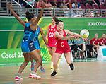 Gold Coast Netball - Wales v Fiji
