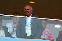 FA Chairman Greg Dyke smiles in the stands