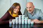 Marie Holden and and Brian Farrell, Ballyferriter with their West of Dongle salt.
