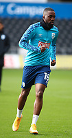 17th October 2020; Liberty Stadium, Swansea, Glamorgan, Wales; English Football League Championship Football, Swansea City versus Huddersfield Town; Isaac Mbenza of Huddersfield Town warms up before the game