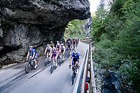 grupetup the Passo di San Valentino (cat.1)<br /> <br /> 104th Giro d'Italia 2021 (2.UWT)<br /> Stage 17 from Canazei to Sega di Ala (193km)<br /> <br /> ©kramoto n