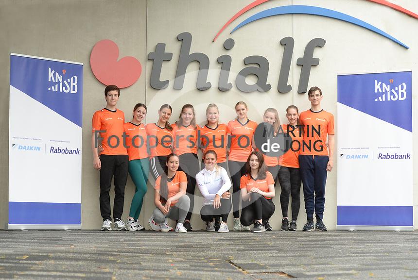 SCHAATSEN: HEERENVEEN: 30-06-2021, IJsstadion Thialf, Trainingsselectie NL Kunstschaatsen, ©foto Martin de Jong