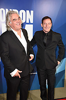 Paul Greengrass and Jason Isaacs<br /> arriving for the 2017 London Film Festival Awards at Banqueting House, London<br /> <br /> <br /> ©Ash Knotek  D3336  14/10/2017