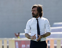 Andrea Pirlo coach of Juventus  during the  italian serie a soccer match,Fiorentina - Juventus at  theStadio Franchi in  Florence Italy ,