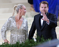 September 13, 2021.James Corden, Julia Carey  attend The 2021 Met Gala Celebrating In America: A Lexicon Of Fashion at<br /> Metropolitan Museum of Art  in New York September 13, 2021 Credit:RW/MediaPunch