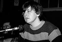 1984  File Photo - Montreal, Quebec - Bernadette Devlin , Irish socialist and republican political activist.