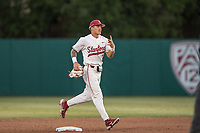 STANFORD, CA - MAY 27: Brock Jones after a game between Oregon State University and Stanford Baseball at Sunken Diamond on May 27, 2021 in Stanford, California.