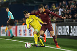 Kevin Strootman of AS Roma fights for the ball with Manuel Trigueros Muñoz of Villarreal CF  during the match Villarreal CF vs AS Roma during their UEFA Europa League 2016-17 Round of 32 match at the Estadio de la Cerámica on 16 February 2017 in Villarreal, Spain. Photo by Maria Jose Segovia Carmona / Power Sport Images