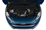 Car Stock 2020 Ford Grand-Tourneo-Connect Titanium 5 Door Minivan Engine  high angle detail view
