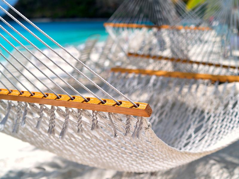 Hammock. Jost Van Dyke. British Virgin Islands