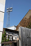 An exterior view of the ground from Braemar Road pictured before Brentford hosted Leeds United in an EFL Championship match at Griffin Park. Formed in 1889, Brentford have played their home games at Griffin Park since 1904, but are moving to a new purpose-built stadium nearby. The home team won this match by 2-0 watched by a crowd of 11,580.