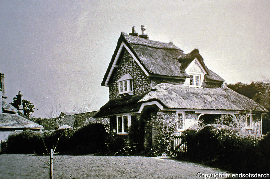 Blaise Hamlet Plan by John Nash, 1810-11. Dutch Cottage.