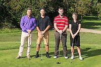 Team FC7 Construction - from left are Nigel Jemson, James Firth, David Crane and Jenna Frudd