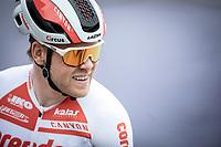 Lasse Norman Hansen (DEN/Corendon Circus) pre race. <br /> <br /> Circuit de Wallonie 2019<br /> One Day Race: Charleroi – Charleroi 192.2km (UCI 1.1.)<br /> Bingoal Cycling Cup 2019