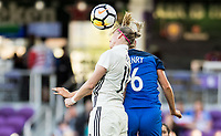 Orlando City, FL - Wednesday March 07, 2018: Alexandra Popp during a 2018 SheBelieves Cup match between the women's national teams of Germany (GER) and France (FRA) at Orlando City Stadium.