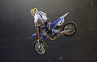 Cooper Webb / Yamaha<br /> 2015 Round 5 / Class : SX1<br /> Australian Supercross Championship / AUS-X Open<br /> Sydney NSW Saturday 28 November 2015<br /> © Sport the library / Jeff Crow